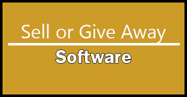 Sell or Giveaway Software related to 3D Printing and Laser Engraving
